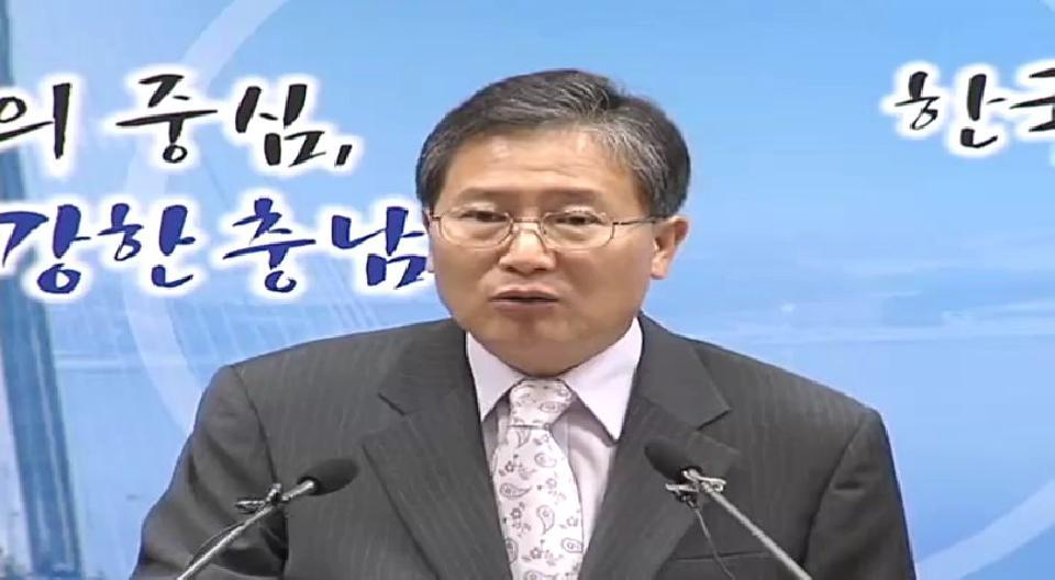 2008년 6월 4일 김동완행정부지사 기자회견
