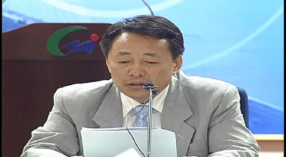 2008년 5월 15일 건설교통국장 기자회견