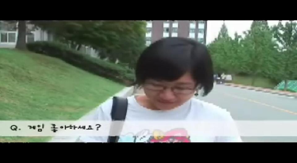 2007 천안 이스포츠대회 길거리 인터뷰