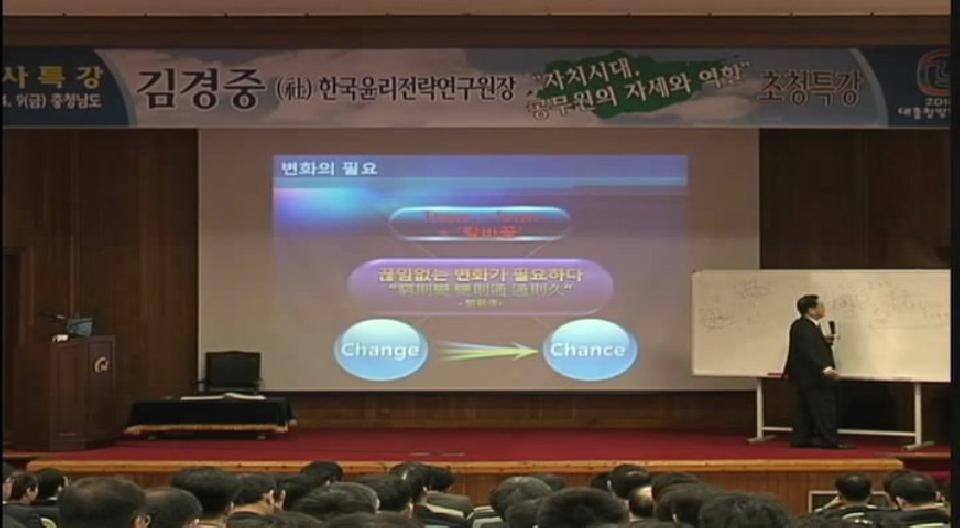 前 한국윤리전략연구원 - 김경중 원장