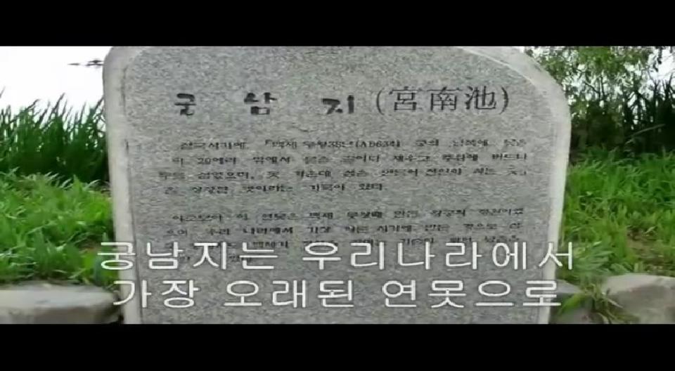 부여 궁남지 소개