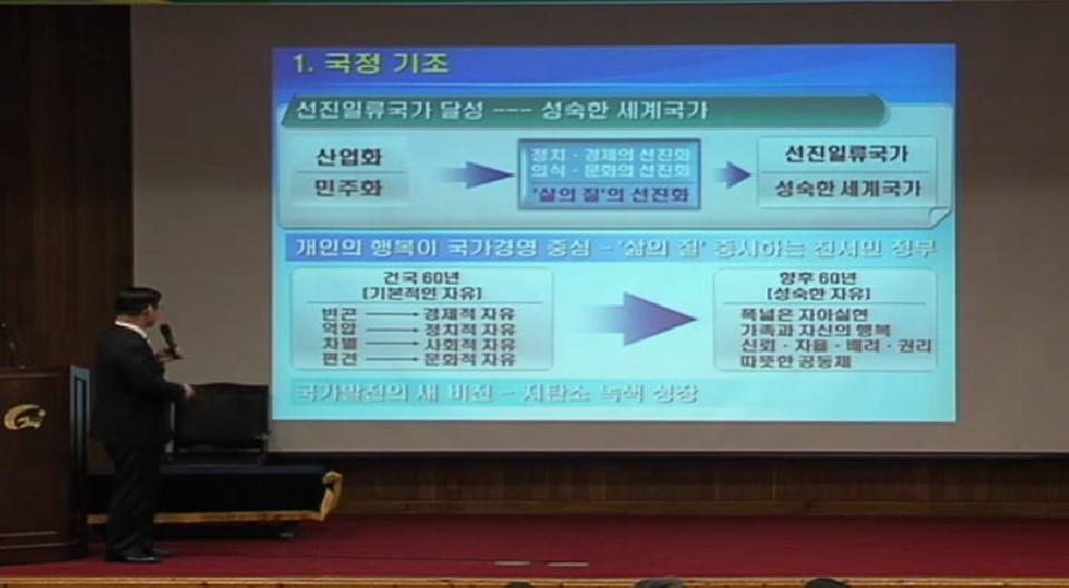 2009년 2월 직장교육_이윤호 지식경제부장관