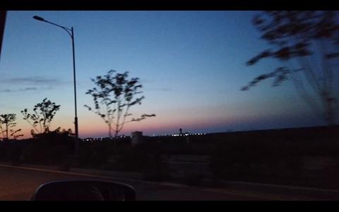 석문방조제 음악분수 영상촬영